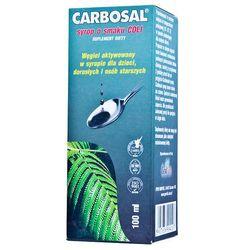 Carbosal Syrop na biegunkę - płyn węgiel smak coli 100ml