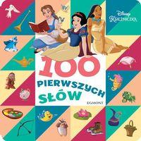 Książki dla dzieci, Disney Księżniczka 100 pierwszych słów - Praca zbiorowa (opr. kartonowa)