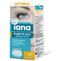 IANA OPTIMAL Nawilżające krople do oczu 10 ml.