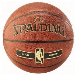 Piłka koszowa Spalding NBA Gold Ind-Out pomarańczowa