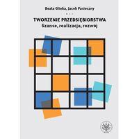 Biblioteka biznesu, Tworzenie przedsiębiorstwa Szanse realizacja rozwój (opr. miękka)