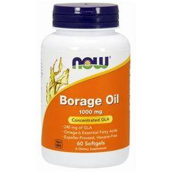 Now Foods Borage Oil - Olej z ogórecznika 60 kaps.