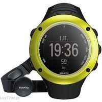 Zegarki sportowe, Zegarek Męski Suunto Ambit 2 Lime GPS (HR) SS020133000