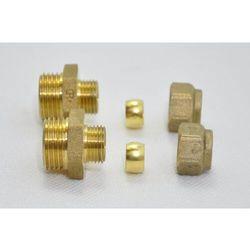 2 x Łącznik prosty DZR 10 x 1/2 CONEx - do nagrzewnic HDW