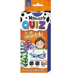Magiczny quiz. Język angielski (opr. miękka)