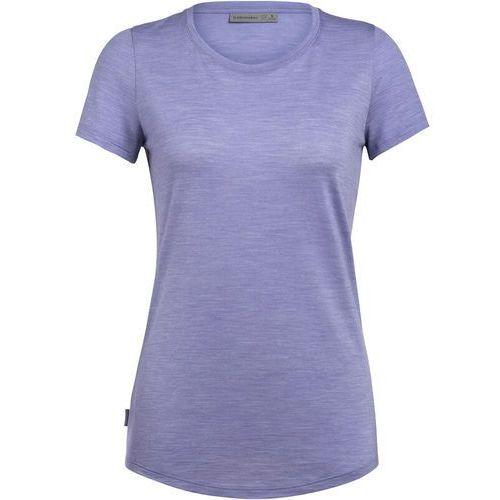 T-shirty damskie, Icebreaker Sphere Koszulka z krótkim rękawem Kobiety, orchid heather XS 2020 Koszulki z krótkim rękawem