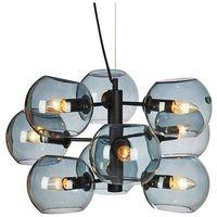 Lampy sufitowe, LAMPA wisząca SOAP 107184 Markslojd szklana OPRAWA zwis kule balls przydymione