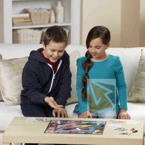 Gry dla dzieci, Monopoly Junior Auta 3 - Hasbro