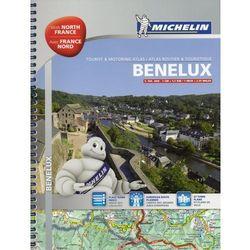Beneluks / Benelux. Belgia, Holandia, Luksemburg, Francja Północna. Atlas samochodowo-turystyczny. Wyd. 2014 Michelin