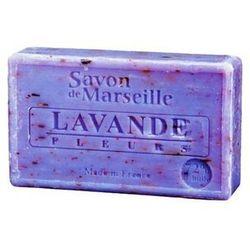 Le Chatelard Mydło marsylskie Lawendowe z płatkami 100 g