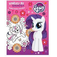 Książki dla dzieci, My Little Pony - Udělej si radost - Velká kniha mandal Linda Perina
