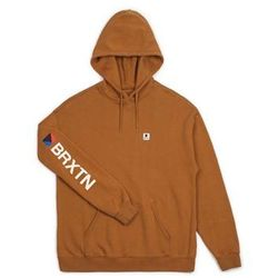 bluza BRIXTON - Stowell Intl Hood Washed Copper (WSHCP) rozmiar: M