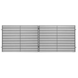 Brama dwuskrzydłowa Polbram Steel Group Brava 300 x 120 cm