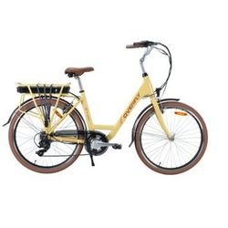 Rower elektryczny OVERFLY Grace 10.4Ah Beżowy