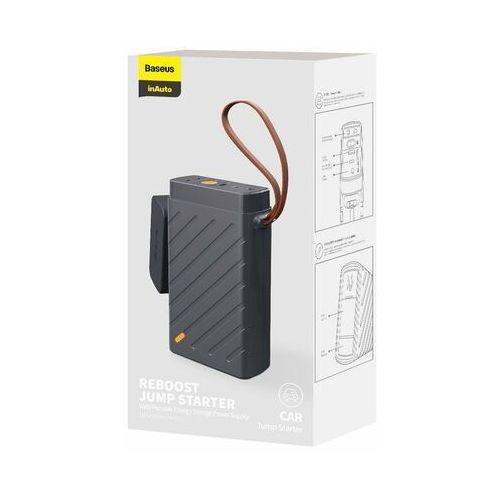 Rozruszniki samochodowe, Powerbank / Rozrusznik Baseus Reboost Jump Starter, 220V/100W (czarny)