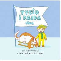 Książki dla dzieci, Czytam Mamie i Tacie. Tycio i Pajda zimą (opr. miękka)