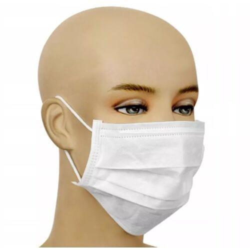 Maseczki i przyłbice ochronne, Maska ochronna wielorazowa - trójwarstwowa z certyfikatem 15szt. + płyn do dezynfekcji zestaw