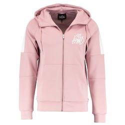 Kings Will Dream BLOCK LEONI HOOD Bluza rozpinana pink/ecru
