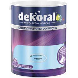 Farba Lateksowa Akrylit W Kolor Niezapominajka 5l Dekoral
