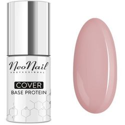 NOWOŚĆ! Lakier hybrydowy Cover Base Protein Natural Nude NeoNail – 7,2 ml