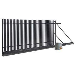 Brama przesuwna automatyczna Polbram Steel Group Daria 2 4 x 1 5 m lewa