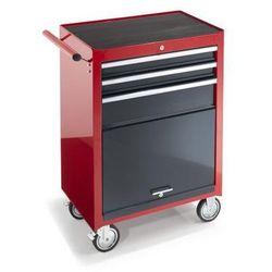Wózek warsztatowy, wys. x szer. x głęb. 995x680x458 mm, 3 szuflady, 1 półka na n