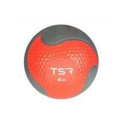 TSR Piłka lekarska kauczukowa- Czerwony, 4 kg - Czerwony \ 4 kg