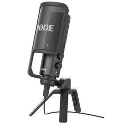 Rode NT-USB studyjny mikrofon pojemnościowy Płacąc przelewem przesyłka gratis!