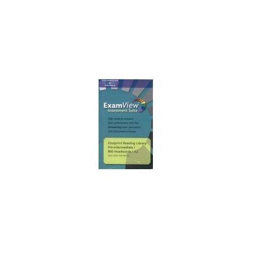 Książki do nauki języka, Footprint Reading Library ExamView Pro CD-ROM Level 800 Headwords