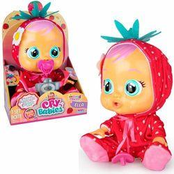 Cry Babies Tutti Frutti Ella truskawkowa płacząca lalka