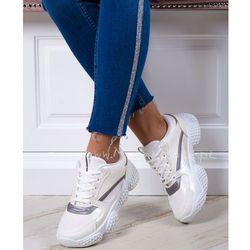 Buty sportowe Madam Powder białe