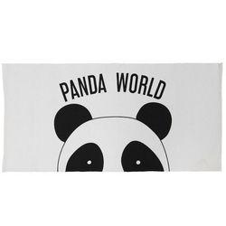 Dywan dziecięcy PANDOU — 100% Bawełny — 60 x 120 cm — biało-czarny