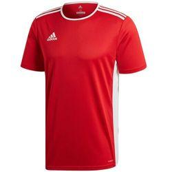 Koszulka dla dzieci adidas Entrada 18 Jersey JUNIOR czerwona CF1038/CF1050