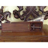 Nożyki i nożyczki do papieru, NOŻYK DO LISTÓW MIECZ NAPOLEOŃSKI W SKRZYNCE (M-3029)