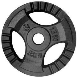 Obciążenie żeliwne do sztangi grafitowe (28,5 mm) 2,5 kg - 2,5 kg