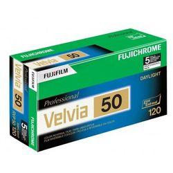 Fujichrome Velvia 50 typ 120 slajd kolorowy waż. 12/2019