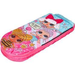 Przenośny dmuchany materac śpiwór LOL Surprise dla dziewczynki 150 cm