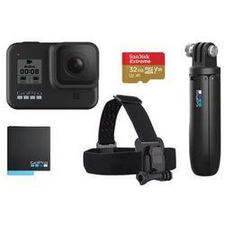 Kamera sportowa GOPRO HERO8 Black + zestaw akcesoriów DARMOWY TRANSPORT