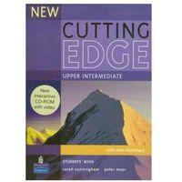 Książki do nauki języka, Cutting Edge New Upper-Intermediate Student s Book (+ CD) (opr. miękka)
