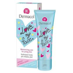 Dermacol Love My Face Moisturizing Care krem do twarzy na dzień 50 ml dla kobiet