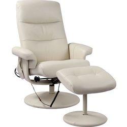 Fotel masujący z podnóżkiem Modern