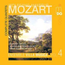W.A. Mozart - Complete Quintets Vol.4:K