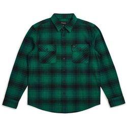 koszula BRIXTON - Bowery LS Flannel Green-Black (GRBLK) rozmiar: M