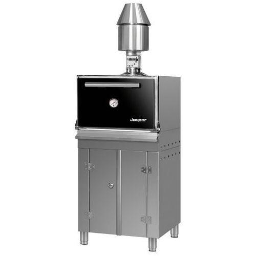 Piece kominkowe, Piec-grill na węgiel drzewny, wolnostojący z szafką 930x860x1900 mm | JOSPER, HJX50L