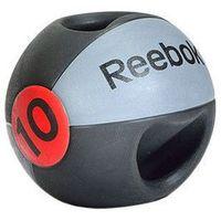 Piłki i skakanki, Reebok Piłka lekarska z uchwytem 10 kg - 10 kg