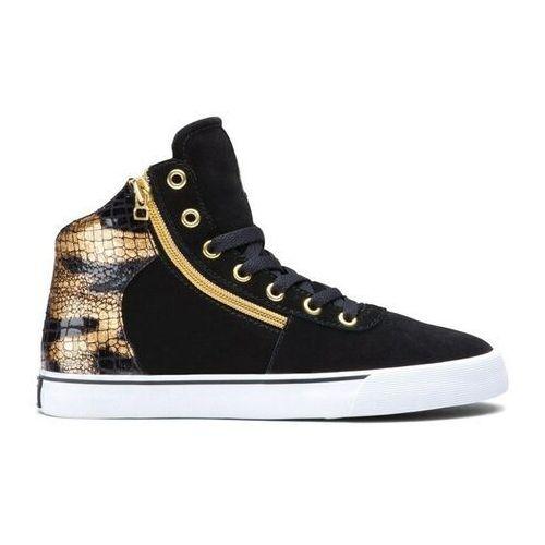 Damskie obuwie sportowe, buty SUPRA - Women-Cuttler Black/Gold (BKG) rozmiar: 36