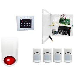 Alarmowy zestaw do zakładu Ropam OptimaGSM-PS + 4xBosch+ TPR-2W-O + Sygnalizator