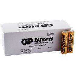 40 x bateria alkaliczna GP Ultra Alkaline Industrial LR6/AA (karton)