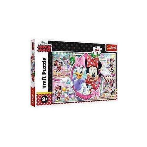 Puzzle, Puzzle 260 elementów Wesoły Dzień Minnie