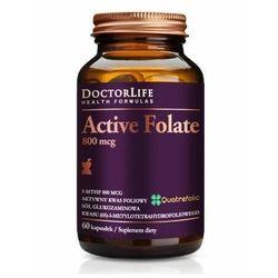 Doctor Life, Active Folate 800mcg, 60 kaps